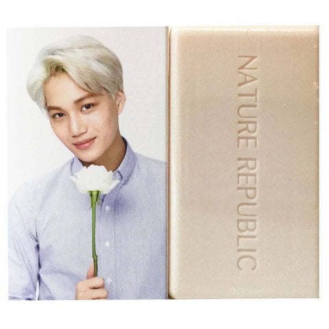 NATURE REPUBLIC Nature Cleansing Soap -- EXO Kai