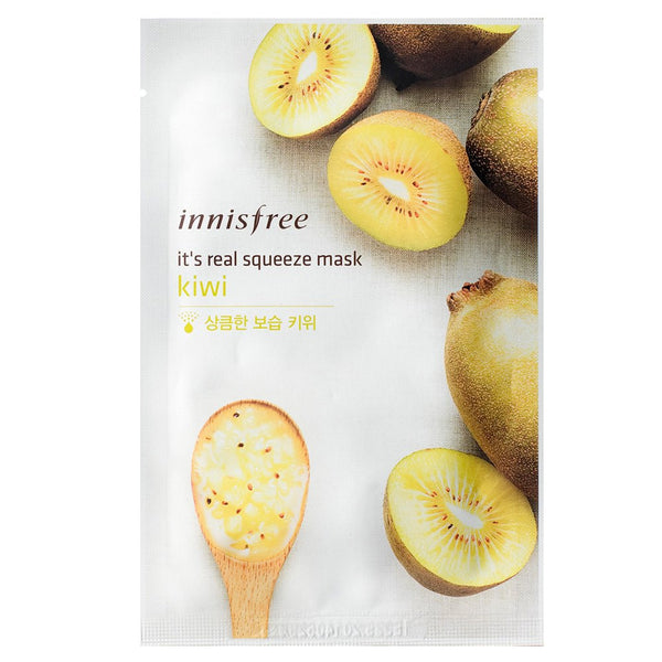 INNISFREE It's Real Squeeze Mask--Kiwi