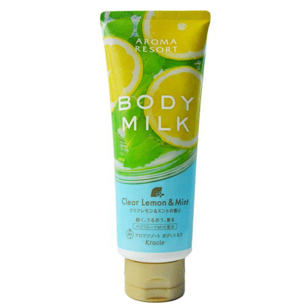 KANEBO KRACIE Body Milk Lemon Mint