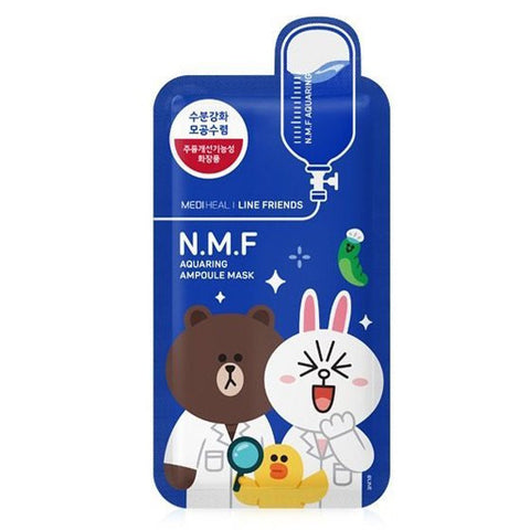 MEDIHEAL N.M.F Aquaring Ampoule Mask--Line Friends Limited Edition