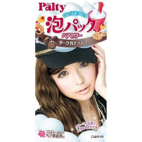 PALTY Bubble Pack Hair Color Dark Ganache