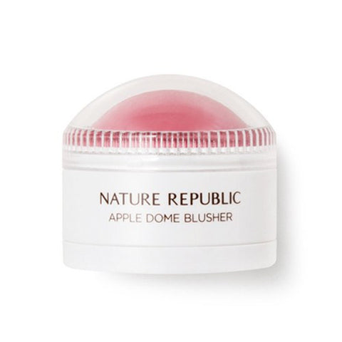NATURE REPUBLIC Botanical Apple Dome Blusher--01 Pink Apple