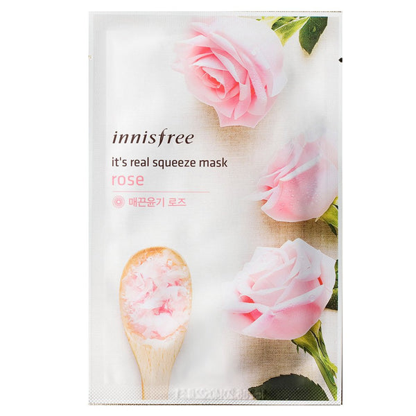 INNISFREE It's Real Squeeze Mask--Rose