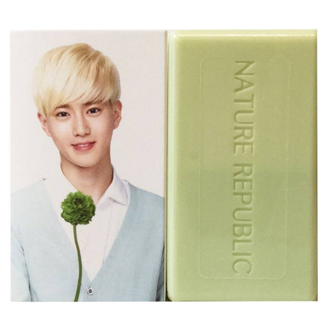 NATURE REPUBLIC Nature Cleansing Soap -- EXO Suho