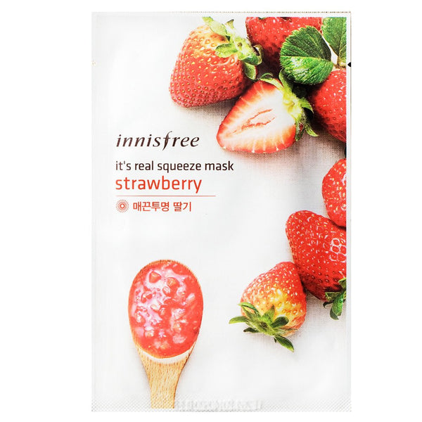 INNISFREE It's Real Squeeze Mask--Strawberry