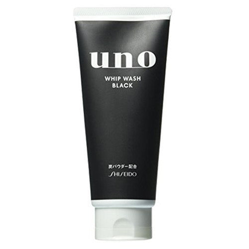 SHISEIDO Uno Face Wash Whip Wash Black