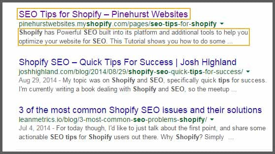 SEO Your Products In Shopify Step 1