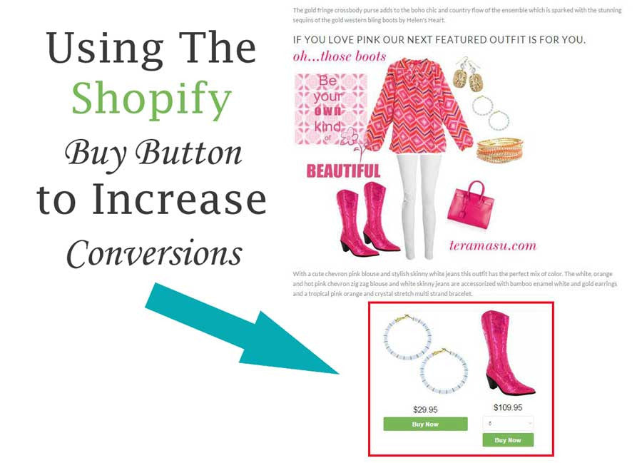 Create a Shopify Buy Button in 5 Minutes