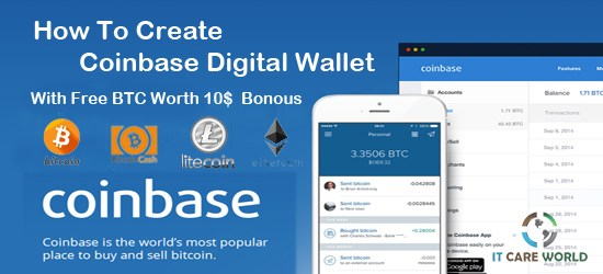 Create a digital Wallet for Bitcoin