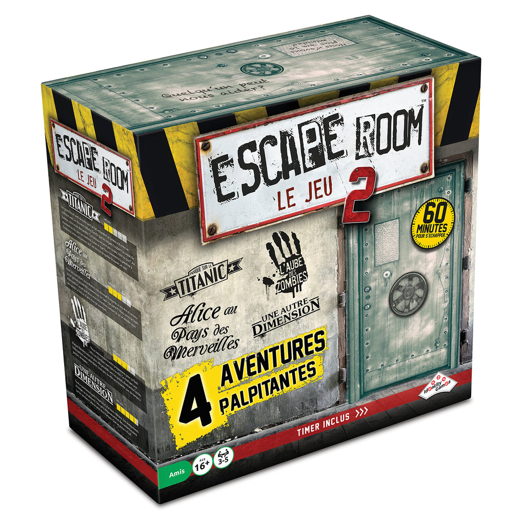 Escape Room le Jeu Coffret de base 2