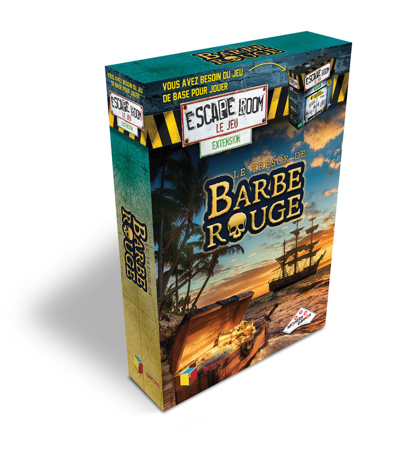 Escape Room le Jeu - le Trésor de Barbe Rouge - Extension