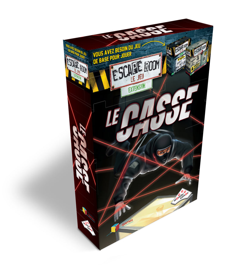 Escape Room le Jeu - Le Casse Extension