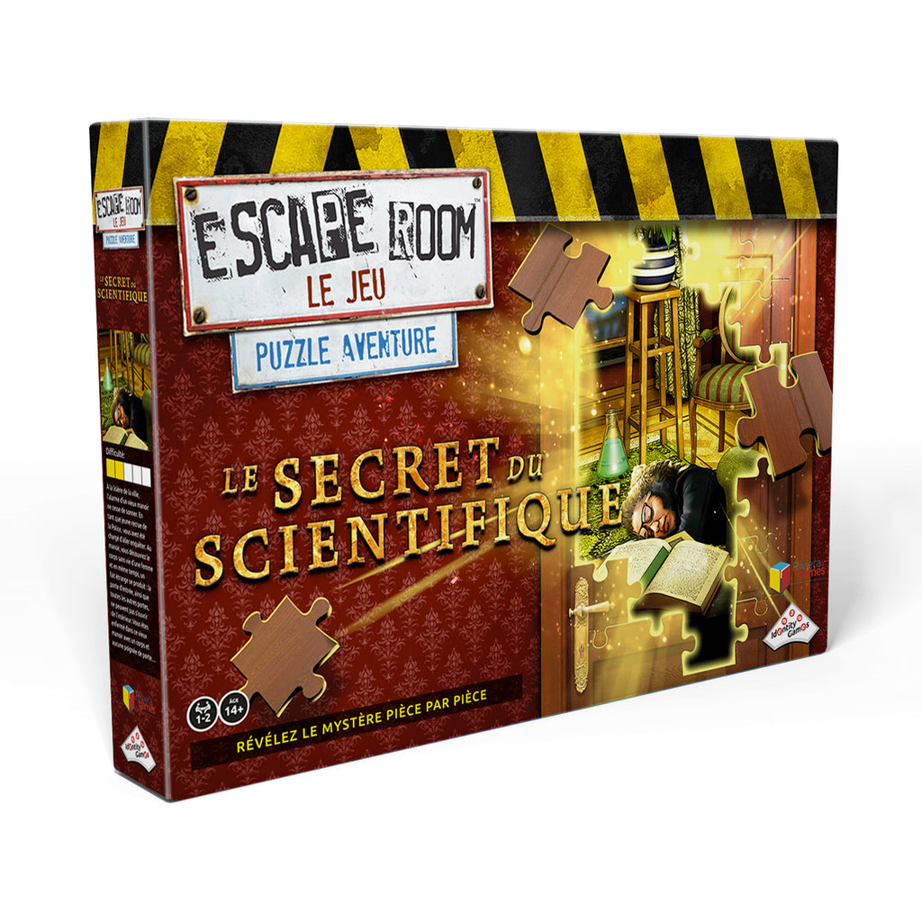 Escape Room Puzzle : le Secret du Scientifique (FR)