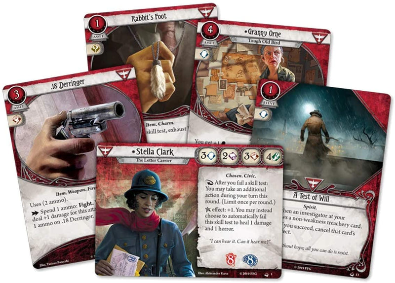 Arkham Horror: the Card Game - Stella Clark Investigator Deck (anglais)