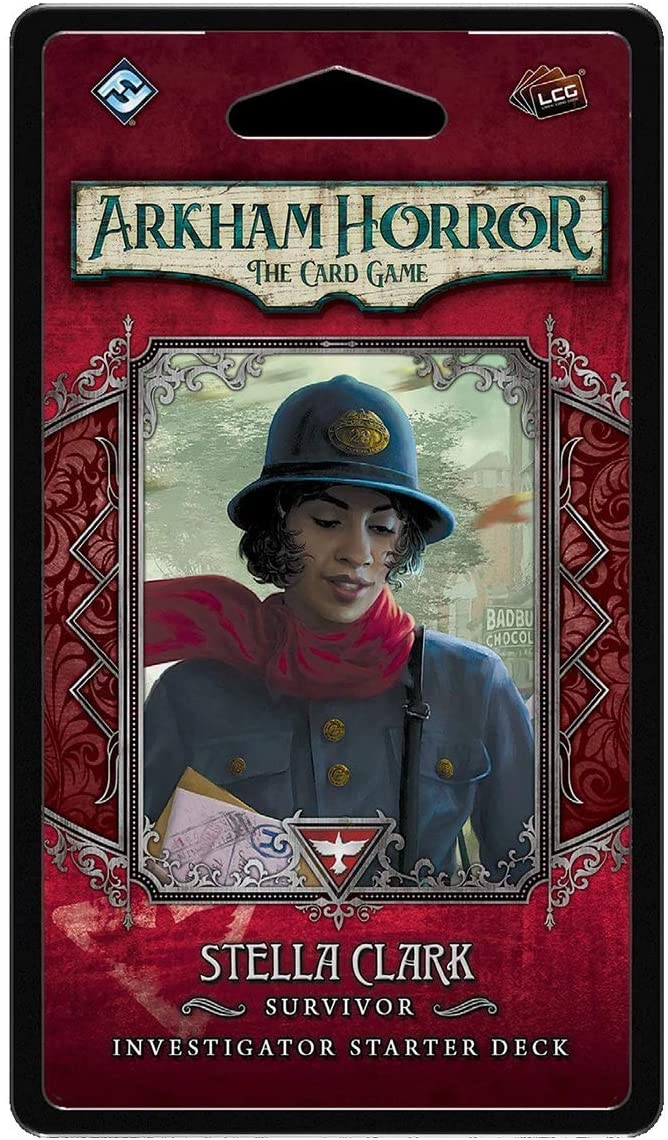 Arkham Horror the Card Game Stella Clark Investigator Deck