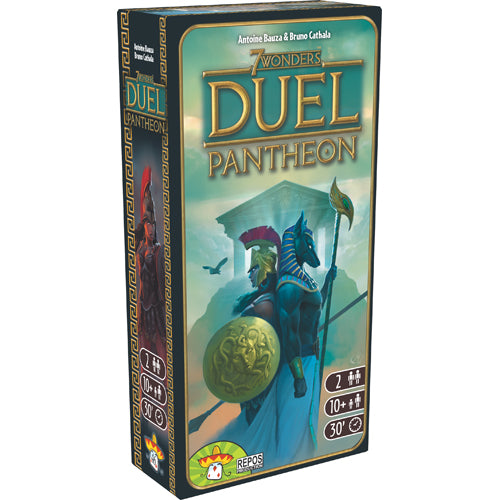 7 Wonders Duel Panthéon Extension