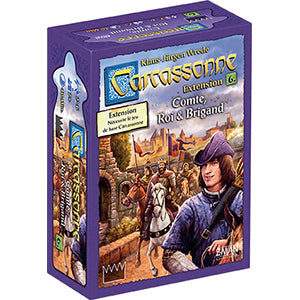 Carcassonne Comte Roi et Brigand Extension 6