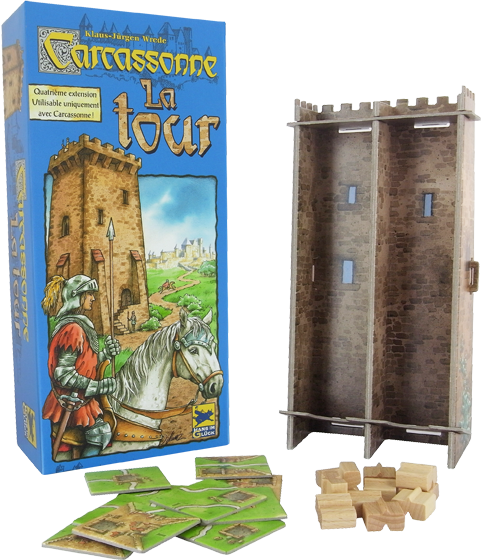 Carcassonne La Tour Extension 4