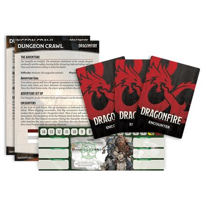 Dragonfire DND Deckbuilding Game (anglais)