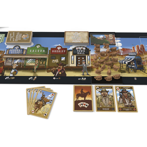 Dice Town - Cowboys Expansion (anglais)