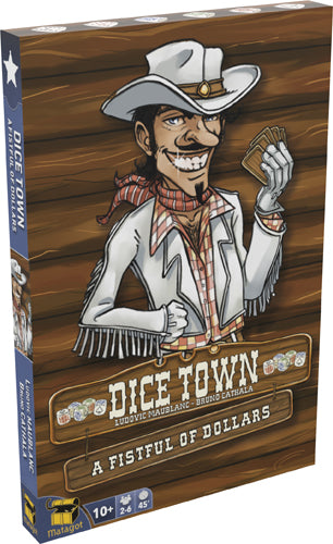 Dice Town Poignée de cartes Extension