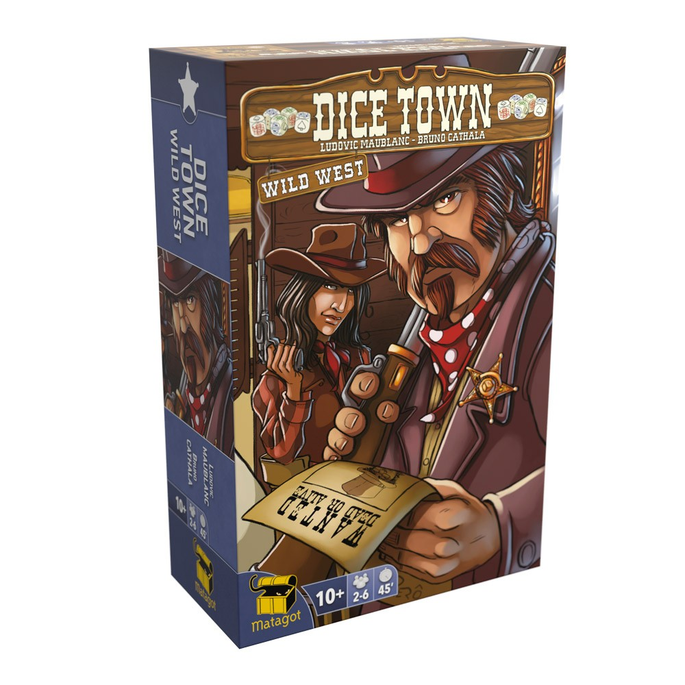 Dice Town Wild West Extension