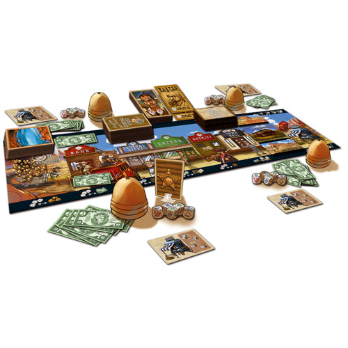 Dice Town - Wild West Expansion (anglais)
