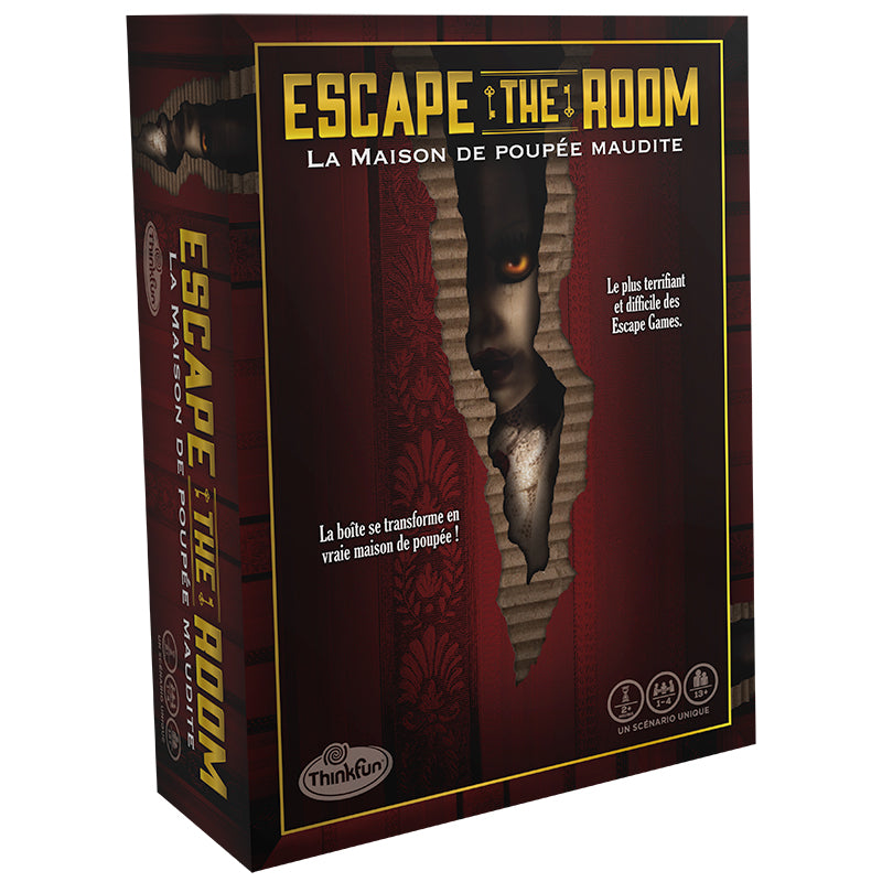 Escape the Room - La Maison de Poupée Maudite (PRÉCOMMANDE)
