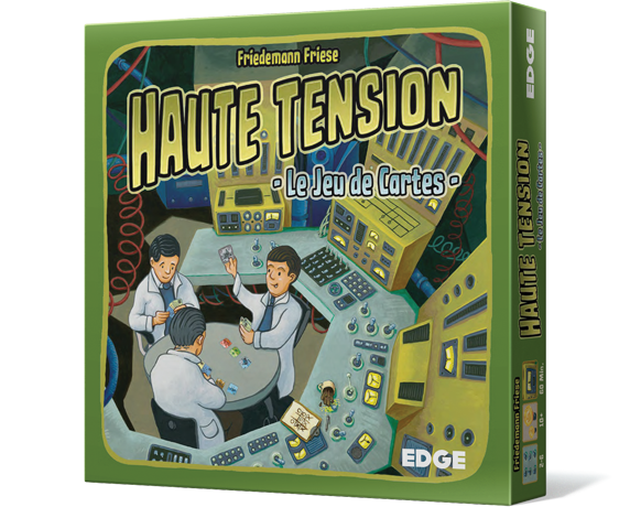 Haute Tension Le Jeu de Cartes