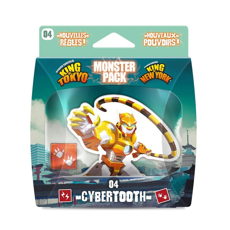 King of Tokyo / New York Monster Pack Cybertooth
