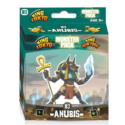 King of Tokyo / New York Monster Pack Anubis