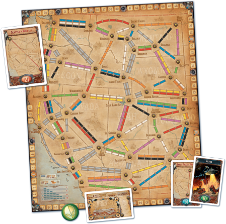 Les Aventuriers du Rail France & Old West
