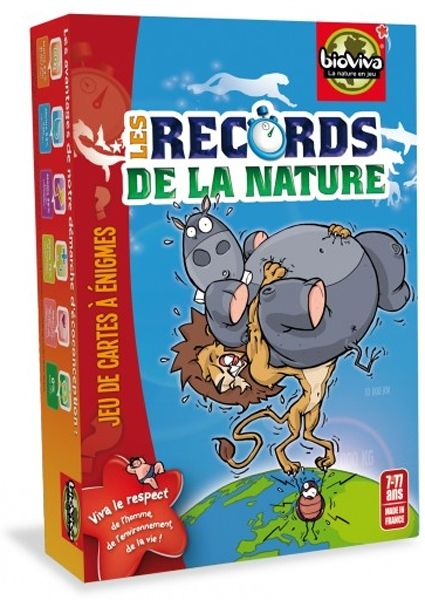 Les records de la nature bleu