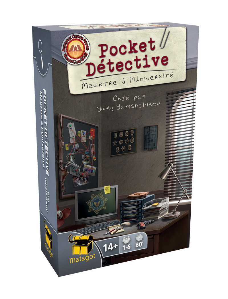 Pocket Detective - Meurtre à l'Université
