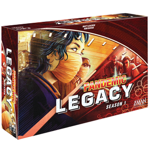 Pandemic Legacy Red Saison 1