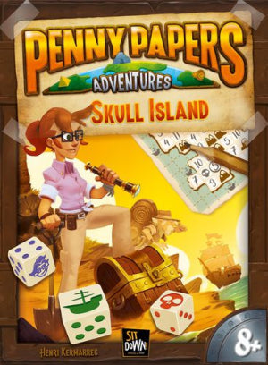 Penny Papers Adventures L'Ïle aux Crânes