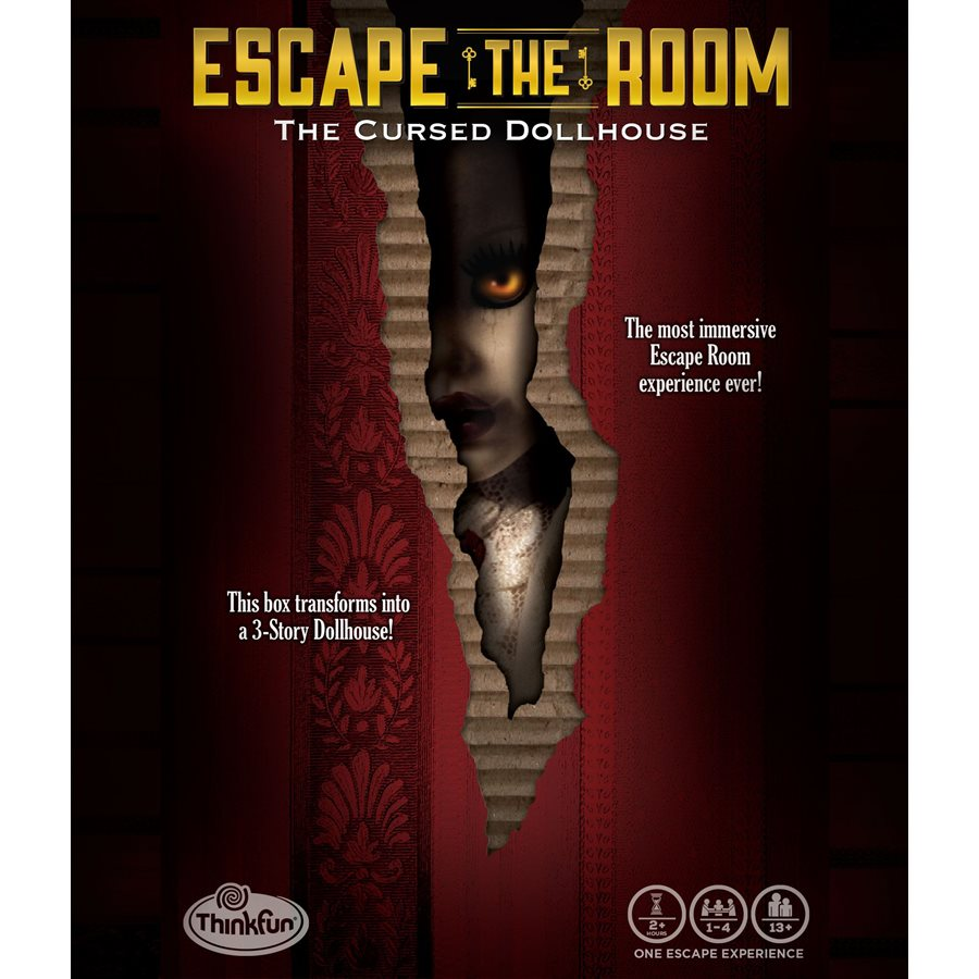 Escape the Room - the Cursed Doll House (anglais)