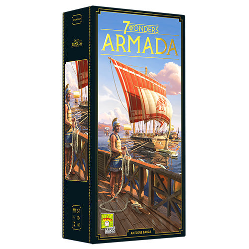 7 Wonders New Edition - Armada Expansion (anglais) (PRÉCOMMANDE)
