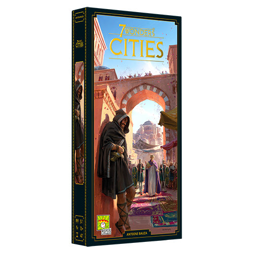 7 Wonders New Edition - Cities Extension (anglais) (PRÉCOMANDE)