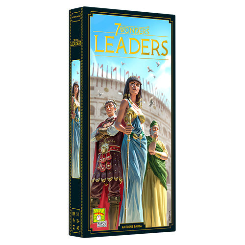 7 Wonders New Edition Leaders Expansion