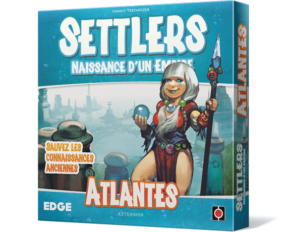 Settlers Naissance d'un Empire  Atlantes Extension