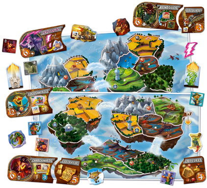 SmallWorld - Sky Island Extension