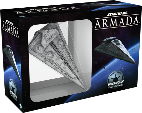 Star Wars Armada Interdictor Extension