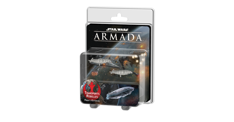 Star Wars Armada Transports Rebelles Extension