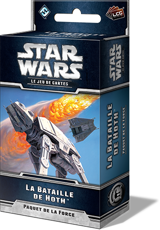 Star Wars Jeu de cartes La Bataille de Hoth Extension
