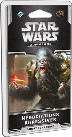 Star Wars Jeu de cartes Négociations aggressives Extension