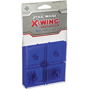Star Wars X-Wing Blue Bases and Pegs Expansion