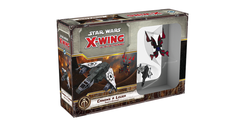 Star Wars X-Wing Canons à louer Extension