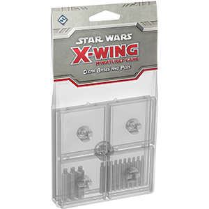 Star Wars X-Wing Clear Bases and Pegs Expansion