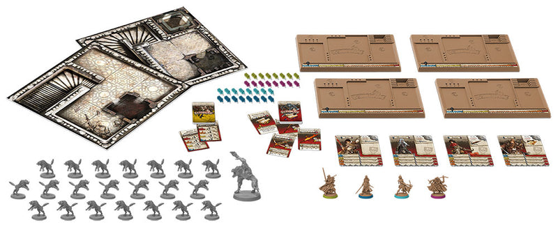 Zombicide Black Plague - Wulfsburg Extension